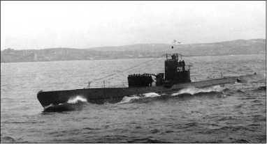 С-56 на морском параде в честь Дня Победы, май 1945г.