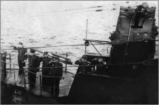 На мостике С-13, весна-лето 1944г.