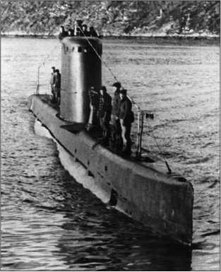 М-172 возвращается из похода, осень 1941г.