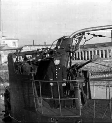 Повреждения, полученные «Л-3» при случайном столкновении с немецким эскортным кораблем 13 ноября 1942г.