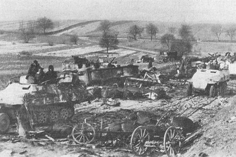 12 января 1945 года (пятница). Четвертый день операции «Конрад II»
