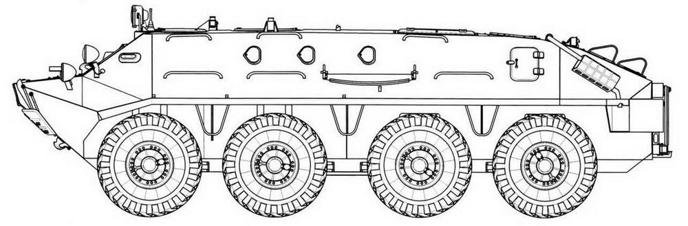 БТР-60ПА 1963 г.