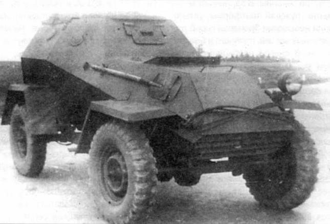 Бронетранспортер БА-64Е. 1943 год