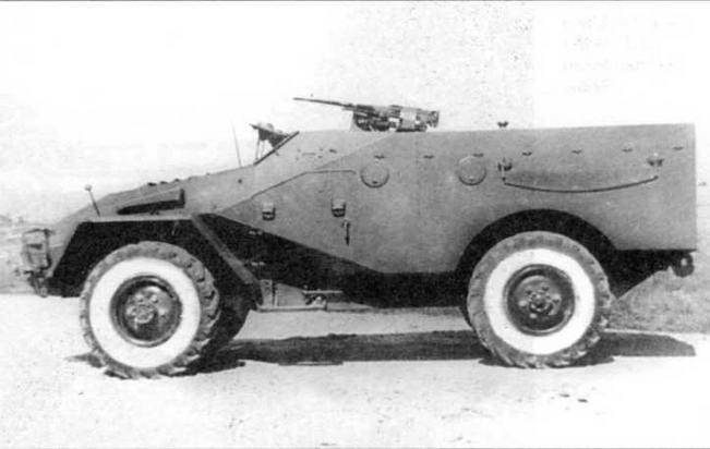 Бронетранспортер БТР-40. 1950 год