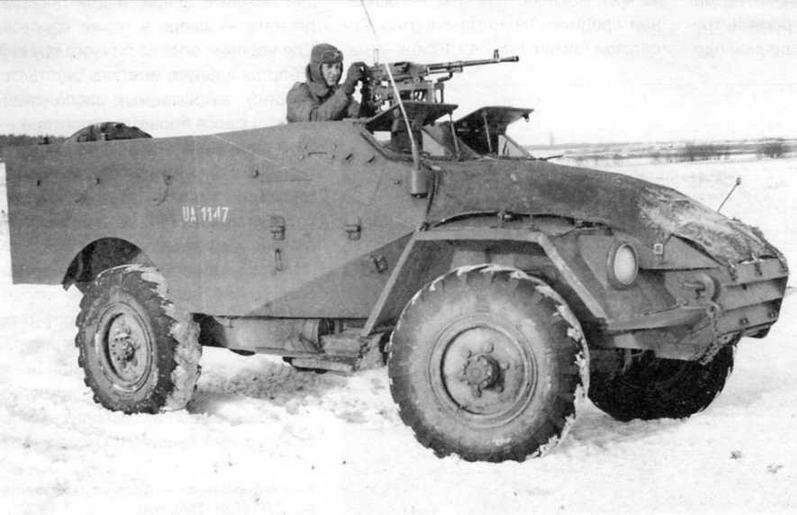 Бронетранспортеры БТР-40 состояли на вооружении стран — участниц Варшавского Договора. На фото — БТР-40 Войска Польского