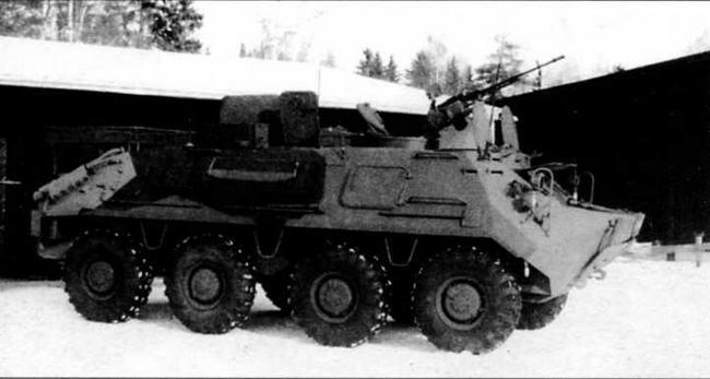 Финская модернизация радиомашины БТР-60Р-145БМ — штабной бронетранспортер БТР-60ПУМ. Весна 1997 года