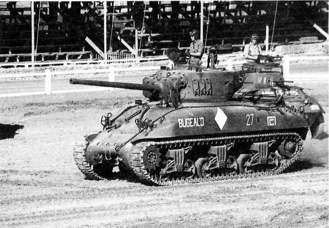 М4А1 во время показа ходовых образцов бронетанковой техники во французском танковом музее в Самюре.