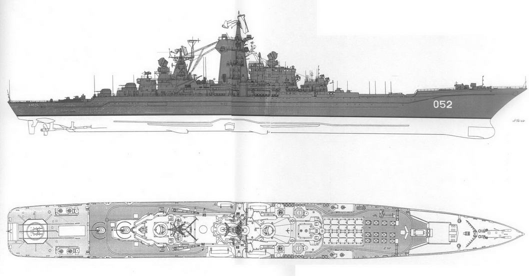 Тяжелые атомные ракетные крейсера типа Киров мод. пр. 11442 – 3 (3)
