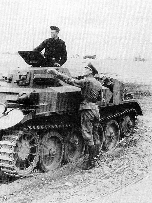 К 22 июня 1941 года огнемётными танками FlammpanzerII были укомплектованы 100-й и 101-й огнемётные танковые батальоны.