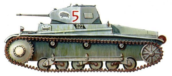 Pz.II Ausf.b. 7-й танковый полк 10-й <a href='https://arsenal-info.ru/b/book/1627328415/38' target='_self'>танковой дивизии</a> (Pz.Rgt.7, 10.Panzer Division). Франция, июнь 1940г.