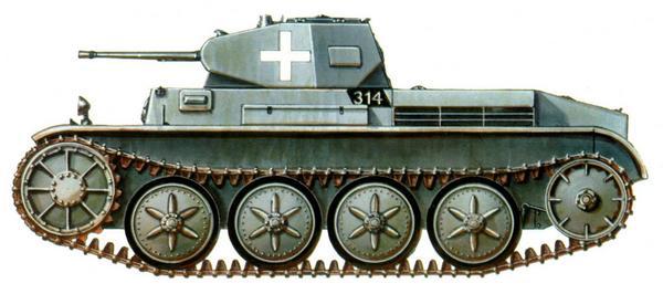 Pz.II Ausf.D. 3-я рота 67-го <a href='https://arsenal-info.ru/b/book/348132256/10' target='_self'>танкового батальона</a> 3-й лёгкой дивизии (3/Pz.Abt.67, 3.Leichte Division). Польша, сентябрь 1939г.
