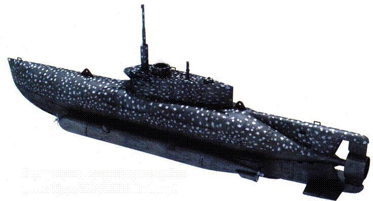 Германская сверхмалая субмарина Type XXVII B5 Seehund