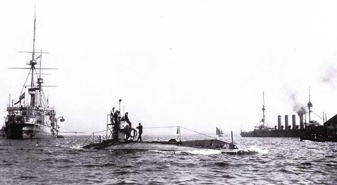 После первых пяти лодок типа Holland британский ВМФ вскоре заказал серию из еще 13 лодок.