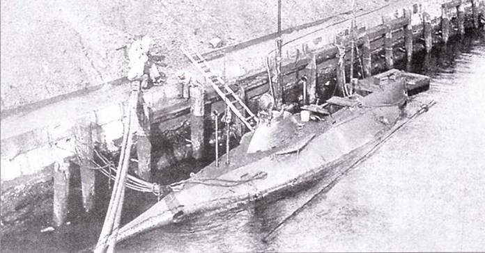 Plunger А-I, прототип класса Adder, 1907г.