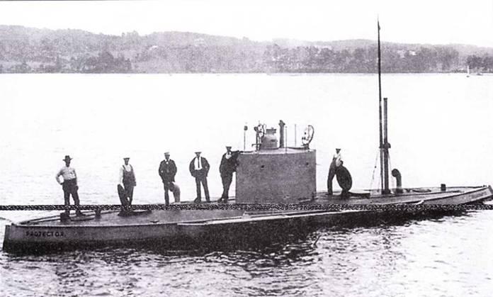 USS Protector 1902/1903гг., проданный к Россию к 1904г. и переименованный и Осетр.