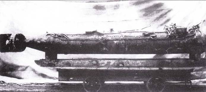 Итальянская управляемая торпеда.