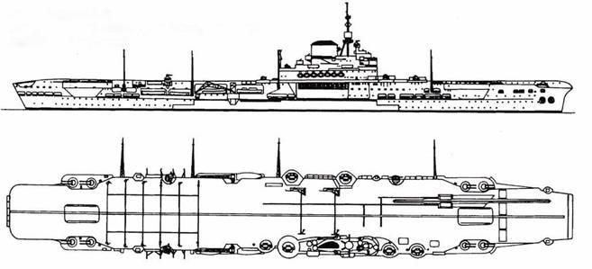 Авианосец Ark Royal