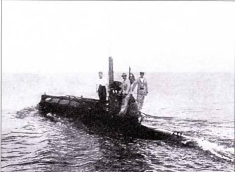 Итальянская подводная лодка «тип А» (1915г.).