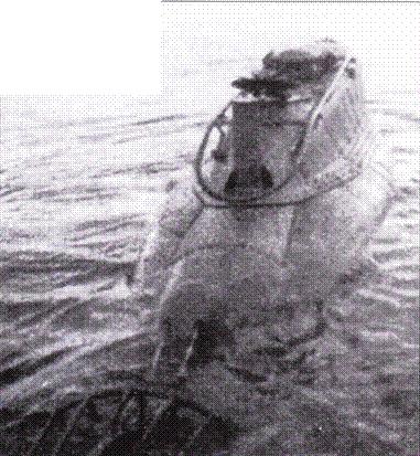 Лодка СА-1 после переделки, озеро Исео, февраль 1942г.