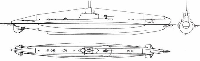 Итальянская подводная лодка Leonardo da Vinci.