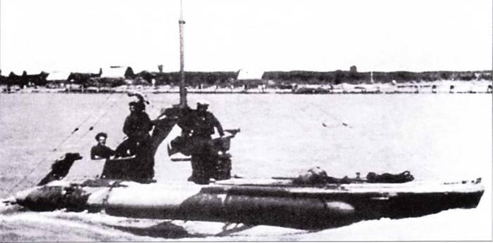 Итальянская подводная лодка «тип СВ».