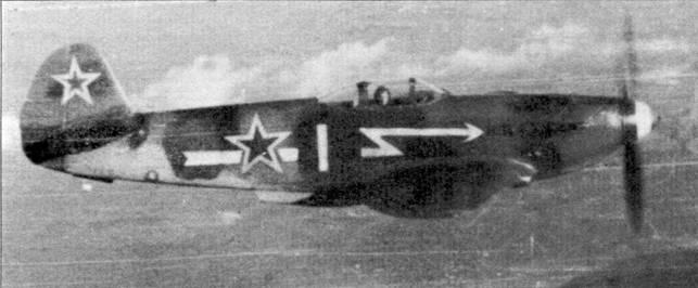 В полете Як-3 из полка «Нормандия-Неман»