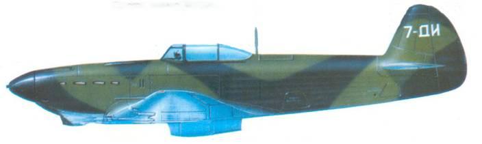 Прототип самолета Як-7ДИ.