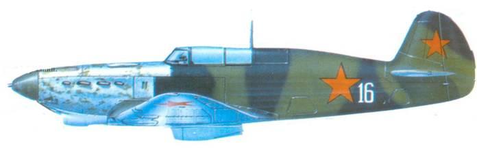 Як-7Б демонстрировавшийся в сентябре 1943 года на выставке грофейной авиационной техники, в Германии.