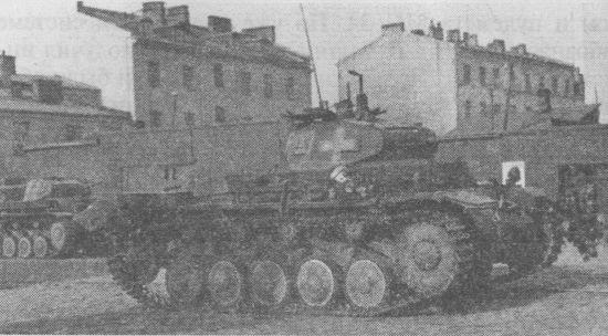 Танки Pz.II Ausf.C 36-го танкового полка 4-й танковой дивизии Вермахта во время боёв в Варшаве 8–9 сентября 1939 года.