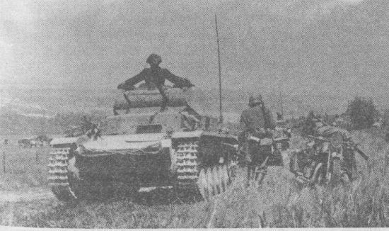 Pz.II Ausf.C во Франции. Май 1940 года.