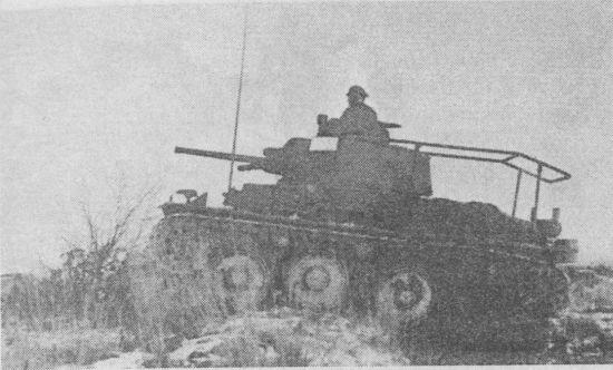 Командирский танк Pz.Bef.Wg.38(t) звена «батальон-полк». Восточный фронт, осень 1941 года.