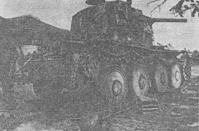 Словацкий Pz.38(t), подбитый на Восточном фронте в 1941 году.