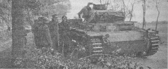 Командирский танк Pz.Bf.Wg.III Ausf.Dl. Польша, сентябрь 1939 года.