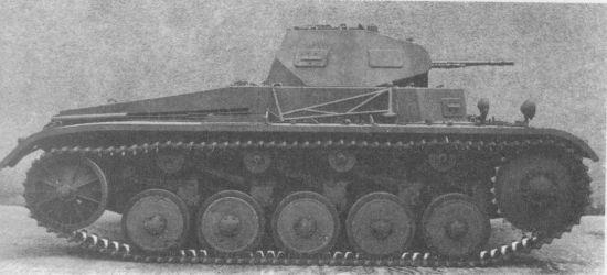 Лёгкий танк Pz.1l Ausf.A.