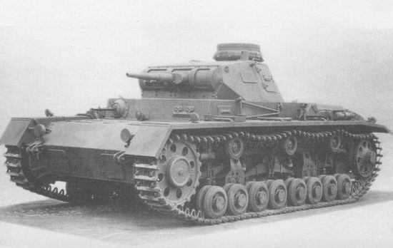 Средний танк Pz.IIl Ausf.D.