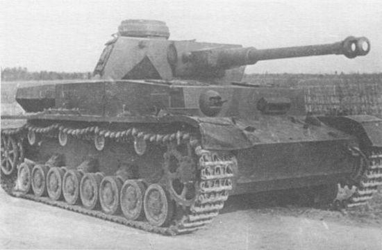 Pz.IV Ausf.G на НИИБТПолигоне в Кубинке. 1947 год.