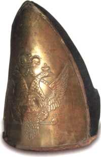Гренадерская шапка 6-го флотского батальона Балтийского флота. 1796–1802гг. (МВФО).