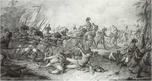 Пленение генерала И.И. Германа под Бергеном 8 сентября 1799г. <emphasis>Голландская гравюра. 1804г. (Музей-панорама «Бородинская битва»).