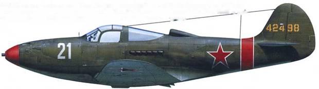 P-39Q-I5 44-2498, летчик – подполковник Павел Заварухии, командир 72-го ГвИАП, Белоруссии, лето 1944 года.
