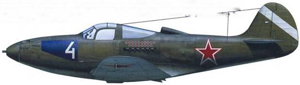 P-39N (серийный неизвестен), летчик – старший лейтенант Евгений Мариинский, 129-й ГвИАП, Германия, 1945