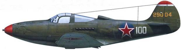 P-39N-0 42-9004, летчик – полковник Александр Покрышкин, 9-й ГвИАД, Германия, 1945