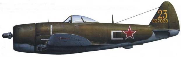 P-47D-27 42-27023, 255 ИАП ВВС СФ, весна 1945