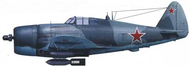 P-47D-22 (серийный неизвестен), 255-й ИАП ВВС СФ, октябрь 1944