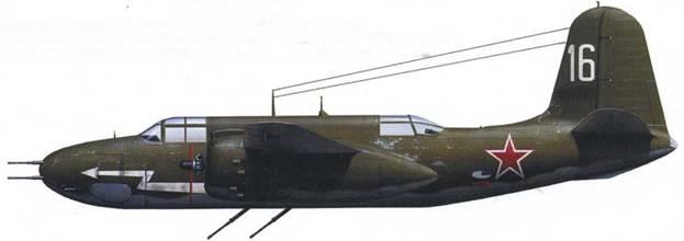 A-20G-1 (серийный № неизвестен), 27-й АПИ ДО, Дальняя Авиация, весна 1944