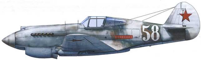 «Томагаук» II (серийный № неизвестен), летчик – лейтенант Алексей Хлобыстов, 20-й ГвИАП, аэродром «Мурмаши». Северная Карелия, апрель 1942.