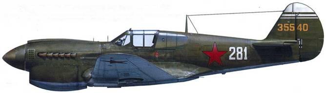 Р-40М (серийный номер и полк неизвестны), ВВС Северного флота, 1944.