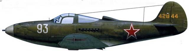 Р-390-15 44-2844, летчик – лейтенанта Дмитрий Калинин, 508-й ИАН, аэродром «Турбуйя» (Польша), август 1944.