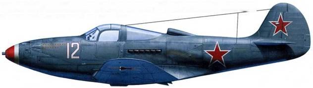 P-39N (серийный номер неизвестен), летчик – майор Александр Кармин, 129-й ГвИАП, аэродром «Яссы», май 1944.