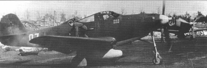 Этот Р-39 летал в составе 255 ИАП ВВС СФ летом 1944 года.