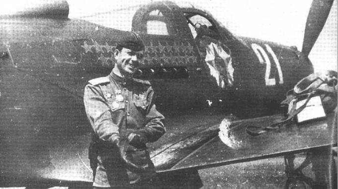 Лейтенант Федор Шикунов получил звание ГСС, одержав 25 личных побед. Но его дальнейшая карьера не ясна. В /943 году летал в составе 9 ГвИАП, позже перешел в 69 ГвИАП.